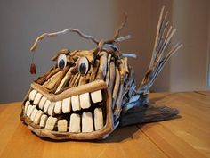 Driftwood sculpture - Andy Sinclair