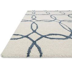 Perfect for an office or living room, the Loloi Panache Indoor Area Rug gives your home a look of simple elegance. Expertly crafted, the. Circle Rug, Geometric Circle, Circle Pattern, Rug Company, Accent Rugs, Simple Elegance, Carpet Runner, Wool Rug, 3 D