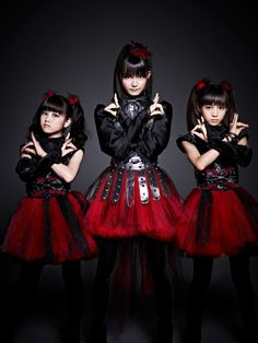 The Japanese vocal metal and dance group called Baby Metal managed by Amuse talent agency. Leave it to JRock