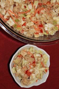 Asian Chicken Salad with Quinoa | 5DollarDinners.com