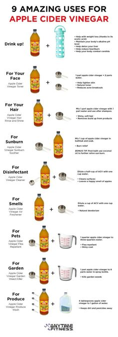 Uses of apple cider vinegar by lea