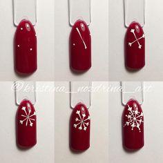 Малюсенький мк моей снежинки, самой простой не выстриженной кисточкой. На неё тратится 10 минут это прям максимум! @pony_nails спешл фо ю, говорила не получаются и решила сделать) #мкногти #мкдизайнногтей