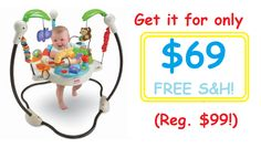 Amazon: Get the Fisher-Price Luv U Zoo Jumperoo for $69 SHIPPED!! (Regularly $99!) - Personally Recommended!!