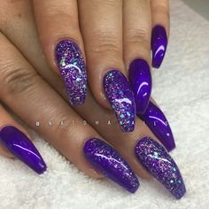 20 - The most beautiful Nail designs of 2019 here - 1 We have collected the most popular 2019 nail design for you. These nail models will suit you ver. Colorful Nail Designs, Beautiful Nail Designs, Acrylic Nail Designs, Nail Art Designs, Sexy Nails, Hot Nails, Fancy Nails, Fabulous Nails, Gorgeous Nails