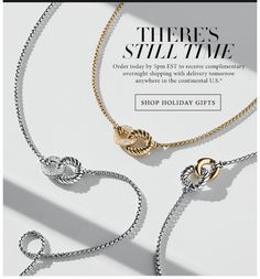David Yurman necklaces | shadows, lighting