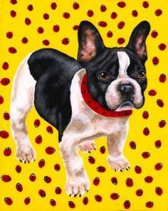 french bulldog dog art - Google Search