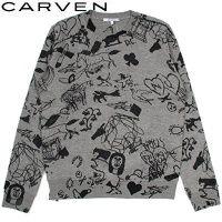 【CARVEN】グラフィックプリントトップス