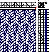 weaving patterns 12 shaft - Google Search