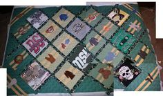 a quilt for my browncoat daughter who loves Firefly