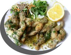 great site for many FROG LEG recipes. froglegs.org  I would like to bake over fry
