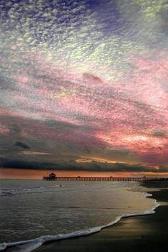 Folly Beach, Charleston, SC   Look up to the sky.....