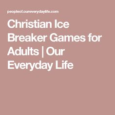 christian party games for adults