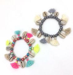 2017 Bohême bijoux amitié bracelet coton gland charme bracelet chapelet perles bracelet Charme Perles de Rocaille Bracelets