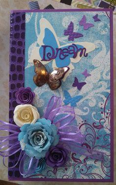 Dream Paperbag Journal. This scrapbooking journal by ReneesOdyssey