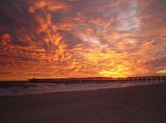 Oak Island, NC   Going there this weekend to the condo! I love how they have sunrises and sunsets on the water