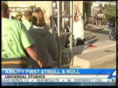 """AbilityFirst Stroll & Roll fundraiser re-cap on the NBC4 """"Today In LA"""" morning news. Thank you NBC for your support with helping people with disabilities realize their full potential."""