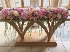 Registrars and top table flowers Wedding Table Centres, Wedding Table Decorations, Table Centerpieces, Wedding Colors, Wedding Styles, Wedding Flowers, Wedding Ideas, Top Table Flowers, Pew Ends