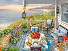 Janet KRUSKAMP ~ Seaside Porch