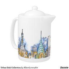 Urban Dish Collection Teapot
