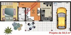 Projetos de Edículas - Sugestões, Fotos e Modelos Prontos