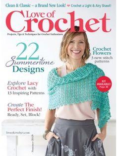 Love of Crochet Summer 2015 Digital Issue   InterweaveStore.com