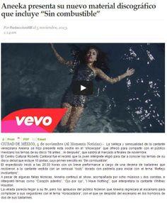 Aneeka- Ni Antes Ni Despues www.aneekamusic.com facebook.com/aneekamusic @Aneeka Music #music #Mexico