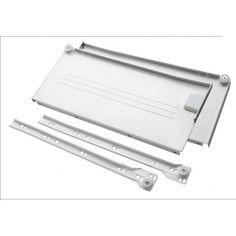 Metalbox H-150mm L-350mm Biały
