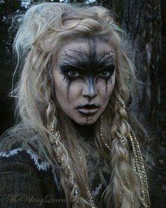 L anima nera.@Nina Witch Makeup, Sfx Makeup, Costume Makeup, Makeup Art, Makeup Ideas, Rave Makeup, Alien Makeup, Evil Makeup, Voodoo Makeup
