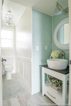 Do you have a small bathroom? This post is loaded with fun ideas to maximize any space!!!