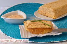 Pastel de salmón fresco, receta muy fácil - Recetas de... ¡Escándalo! Salmon Y Aguacate, Cornbread, Tacos, Ethnic Recipes, Salsa Rosa, Fresco, Food, Quiches, 3