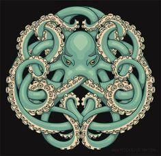 Jada Fitch Octopuss T-Shirt design - Google Search