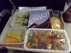 あめりか日記: 2013 夏 中国への旅 機内食 <フォーチュン・クッキーのルーツは日本!>