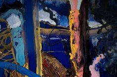 #landscape #detail #enamel #painting #romneymarsh