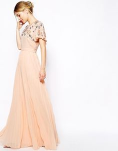 this would make a pretty wedding dress! | buy it: http://rstyle.me/n/nf849sque