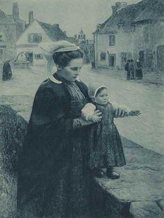 Femme portant la toukenn