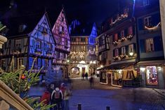 Colmar, France/We'll need to visit Dogweed and Deathcap for this week's Herbology lesson.