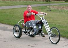 40 Awesome chopper bicycle trike images