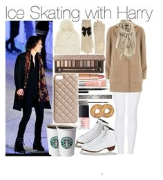 """""""Ice Skating with Harry"""" by emily-tabinor ❤ liked on Polyvore featuring Topshop, Dorothy Perkins, Chan Luu, Burberry, Kate Spade, Urban Decay, The Case Factory, Charlotte Tilbury, NARS Cosmetics and Origins"""