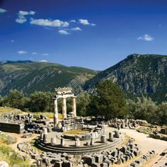 Delphi - but get there early on a warm cloudless day...