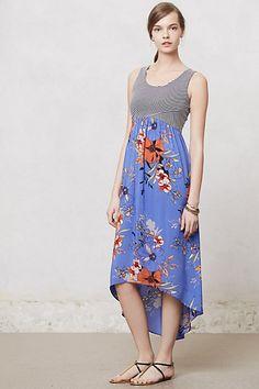 Zelie Maxi Dress #anthropologie