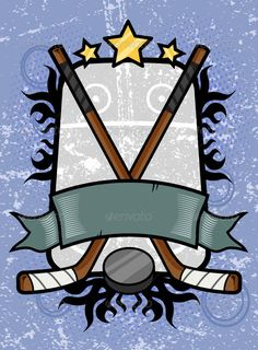 VECTOR DOWNLOAD (.ai, .psd) :: http://jquery.re/pinterest-itmid-1007162487i.html ... Hockey Emblem ...  background, banner, crossed, design, element, emblem, hockey, ice, illustration, no people, nobody, puck, recreation, sports, stick, tribal, vector  ... Vectors Graphics Design Illustration Isolated Vector Templates Textures Stock Business Realistic eCommerce Wordpress Infographics Element Print Webdesign ... DOWNLOAD :: http://jquery.re/pinterest-itmid-1007162487i.html
