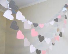 Hochzeit Girlande / 10ft Anker und Herz Girlande / Navy und