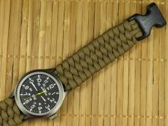 Beginner Paracord: Single Strand Trilobite Watchband (Paracord 101)