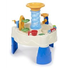 Little Tikes Spiralin Seas Sand & Water Table Sand And Water Table, Sand Table, Wooden Sandbox, All Candy, Balloon Delivery, Personalized Party Favors, Little Tikes, Get The Party Started, Party Stores