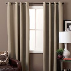 Ultimate Blackout Grommet Top Panel is woven in 3 layers, a tight weave of colored yarns on the front/back, sandwiched around an inner layer of black yarns. Diy Blackout Curtains, Blackout Panels, Yarns, Maryland, Weave, Layers, Home Decor, Products, Layering