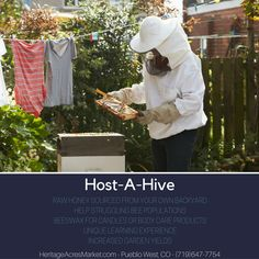 Have you ever wanted a beehive but were afraid of bees? We can place and manage a hive for you, and you get the honey!