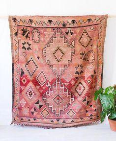 """Vintage Moroccan Boujad Rug, """"The Frances,"""" Berber Kilim Rug, Pink Rug, Red Rug… Pink Carpet, Carpet Colors, White Carpet, Cream Carpet, Textiles, Bd Design, Carpet Trends, Carpet Ideas, Modern Carpet"""