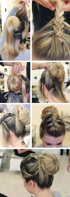 New hair styles festa curto ideas Work Hairstyles, Party Hairstyles, Braided Hairstyles, Popular Hairstyles, Wedding Hairstyles, Step By Step Hairstyles, Bridesmaid Hair, Hair Dos, Hair Hacks