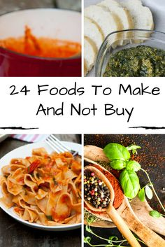 Homemade foods taste so much better than store-bought versions! And they are often healthier (or at least missing food coloring and weird additives)! If you'd like to start making more foods yourself, here are recipes for 24 Foods to Make and Not Buy.    http://acultivatednest.com/2017/04/foods-to-make-and-not-buy/    Food, Food Recipes, Food Photography, Food Deserts, Food healthy, DIY food, DIY food For teens, DIY food Recipes, Recipes, Recipes Healthy, Recipes Easy, Organic food