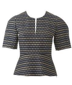 Curved Peplum Top 12/2014 #105 – Sewing Patterns   BurdaStyle.com